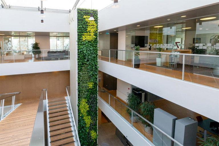 Natural Greenwalls växtväggssystem