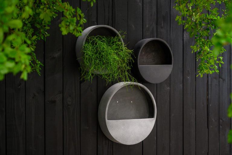 Runda växttavlor från Pottery Potts